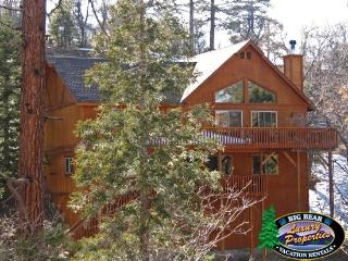 Olde Stag Cabin Lodge an authentic mountain getaway is a Big Bear Vacation Cabin with incredible views and room for the whole family., Big Bear Region