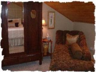 Elch Hütte Schlafzimmer