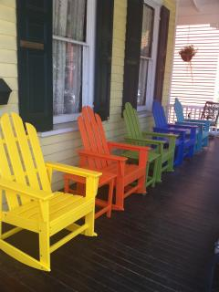 New Rockers on the Front Porch