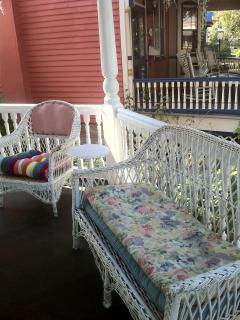 Side Porch Wicker