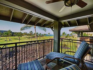 Exquisite Three Bedroom, Three Bath Ocean view Villa (Resort Fees Incl.), Waikoloa