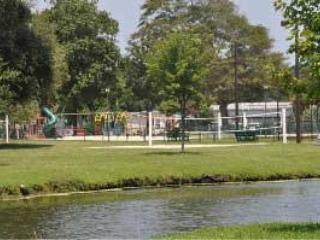 Recreation area includes tennis, volleyball, basketball, softball, horseshoes, bocce and more.