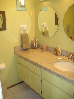 Hall Bathroom (shower/tub combo)