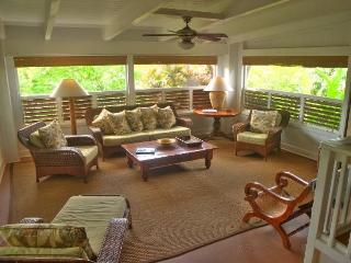 SUMMER SALE ~ Spectacular Ocean view Home in Poipu, private spa, walk to beach