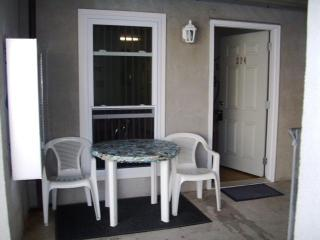 also outside eating area