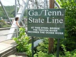 Stand on the GA/TN line just 20 minutes from the cabin