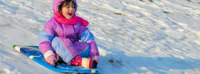 Winter fun for kids at Sanctuaire