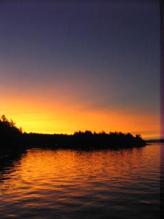 More of that beautiful sunset by Jeanna