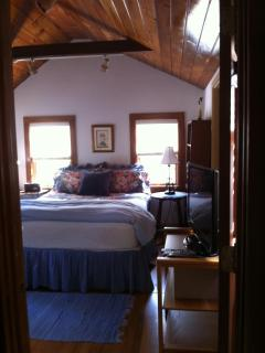 Another view of the cottage bedroom