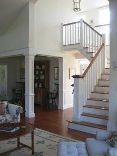 House Living Room Stairway