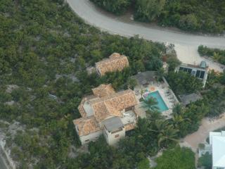 Aerial View of Rosso di Sera
