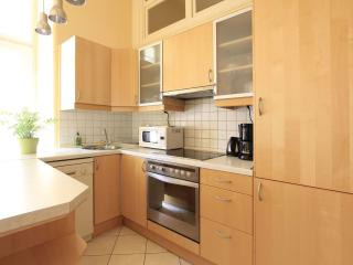 Fully equipped kitchen has everything you need