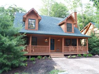 Cedar Creek Lodge Rustic Luxury Cabin w/ POOL, Saugatuck