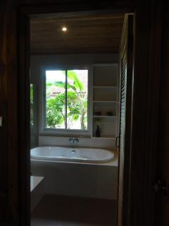 Bathroom ensuited in the master bedroom