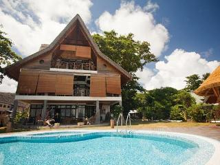 Luxury beachfront villa on La Digue, Seychelles, La Digue Island