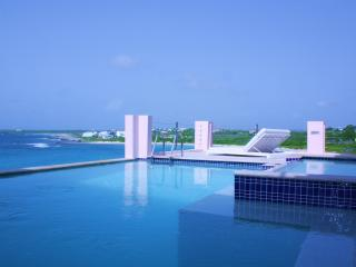 LUXURY VILLA 'B ON THE SEA' IN ANGUILLA, 5 ENSUITE BEDROOMS, 2 DECKS, 2 POOLS