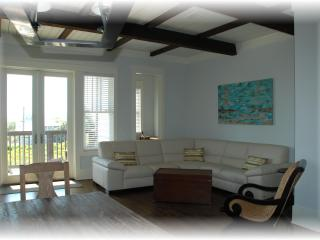 Luxurious New Home, views, 100yds to the beach!