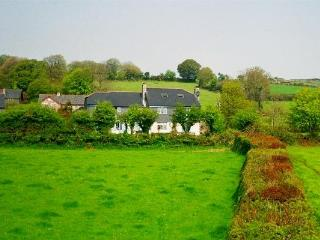 Traquil setting in open countryside