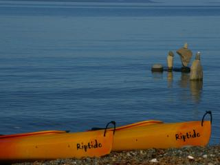 Beachfront 2 bdr 3rd nite FREE kayaks clam/oysters, Qualicum Beach