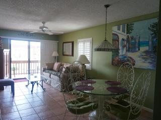 St. Augustine Beach-Ocean View Furnished 2B Condo