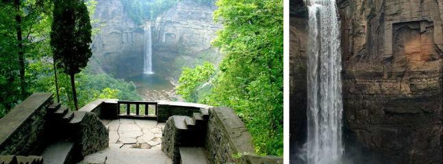 Taughannock State Park with a spectacular waterfall...30 minutes south of the cottage.