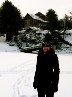 Lake Muskoka Winter Ice Field & Ice Fishing