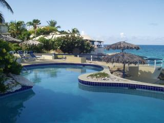 Tree Frog Villa - Oceanfront - 2 Bedrms & 2 Baths, Simpson Bay