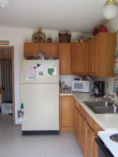 nightly cabin rental Kitchen