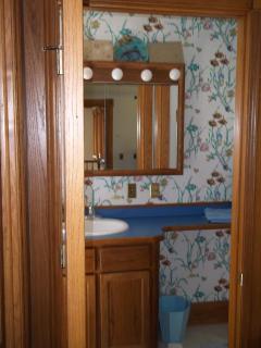 Private bath in bedroom #1