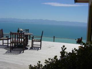 View from Harris Hill Cottage Deck