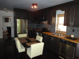 Open Concept Kitchen with All cooking Utensils.