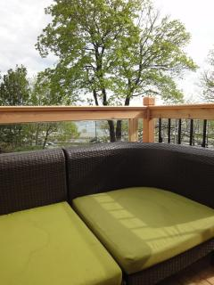 Private Balcony with Lake View