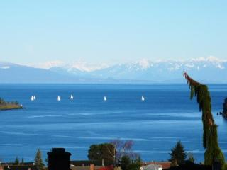 Air-conditioned 3 BR view suite for 6, Nanaimo