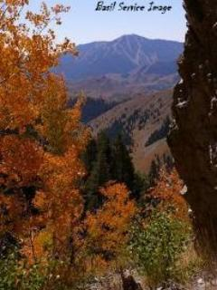 Sun Valley's Bald Mountain Fall