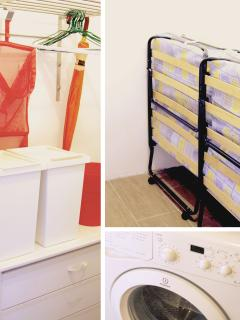 Closet and Rollout Beds