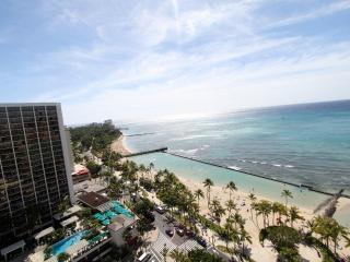 OCEAN VIEW Remodeled High-Floor Desirable Building, Honolulu