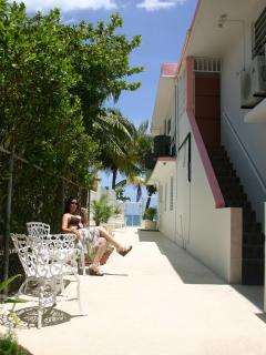 Oceanfront, landscaped properrty