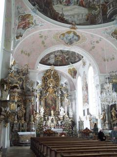 The church in Oberammergau