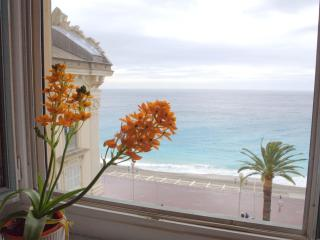 Sea View 2 Bedroom Apartment Across from the Beach, in Vieux Nice, Niza