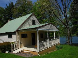 Delightful 3 Bedroom Lakefront Cottage w/ Private Dock & Covered Porch!, Oakland