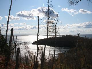 View from Day Hill trail at Split Rock Lighthouse State Park
