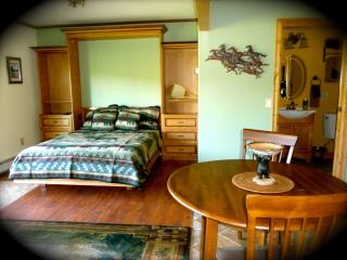 Studio with spectacular Glacier Park views, East Glacier Park