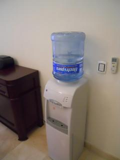 Complimentary purified water included
