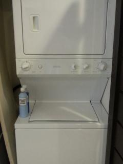 Washer and Dryer in Condo: Why not stay a month!