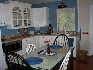 Kitchen with Table/4 Chairs;  Interactive Map Table of the Natchez Trace Parkway-chart your travels!