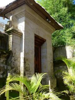 Main entrance to the villas compound