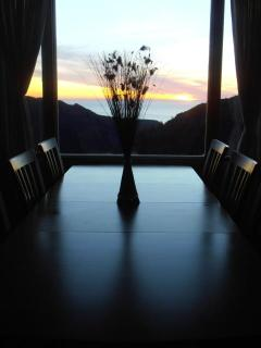 Dining Room sunset