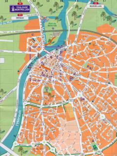 Agde Town map