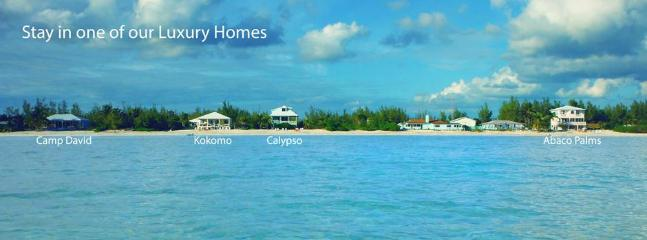 Abaco Palms Properties - Viewed from the water.  Search 'Abaco Palms' for more details.