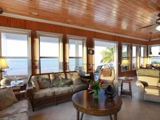 Living Area with gorgeous ocean views.